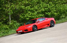 £49 instead of £129 for a junior supercar driving experience with Ferrari 360 F1, Throckmorton Airfield - get your kid behind the wheel and save 62%