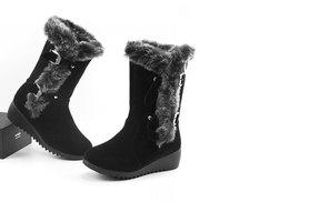 £18 instead of £69.99 (from EFMall) for a pair of black faux fur trimmed winter boots – save 74%