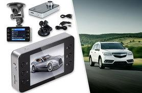"""£9.99 instead of £58.99 (From EFMall) for a 2.7"""" full HD 1080p car camera video recorder - insure yourself and save 83%"""
