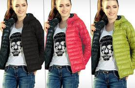 £16 instead of £39.95 (from Product Shelf) for a women's quilted hooded jacket - choose from black, green and red and save 60%