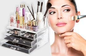 £15 instead of £38.99 (from Fusion Online) for a clear acrylic makeup and jewellery organiser - save 62%