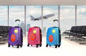 £14.99 instead of £64 (from Kequ) for a hard shell four-wheeled suitcase - choose from six colours and save 77%