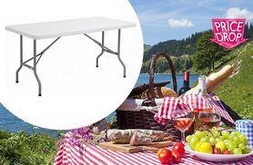 £27 instead of £93 (from Product Mania) for a six-foot outdoor folding table - save 71%