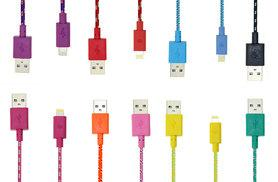 £2.99 instead of £14.99 (from EFMall) for a one-metre braided USB charging cable for iPhone 5, 5s, 6, 6s and 6+  - choose from 10 colours and save 80%