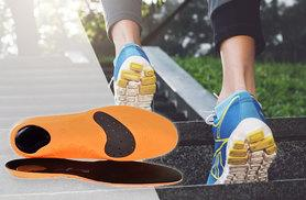 £4.99  (from Sole Control) for a pair of tech sports gel insoles, £8.99 for two pairs