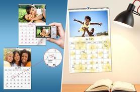 £4.99 instead of £16.99 (from Smiley Hippo) for a personalised A4 photo calendar, or £6.99 for an A3 calendar - make a great personalised gift and save up to 71%