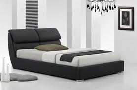 £109 instead of £780 (from Furniture Italia) for a double libretto modern faux leather bed, £129 for a king size - save 86%