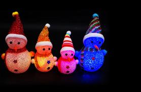 £7.99 instead of £29.99 (from EFMall) for a pack of four LED snowmen - save 73%