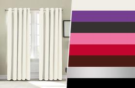 From £9.99 (from Groundlevel.co.uk) for a pair of thermal blackout curtains - choose from six sizes in eight gorgeous colours and save up to 75%