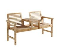 £35 instead of £122 for a two seater wooden garden bench from Premier Retail - save 73%