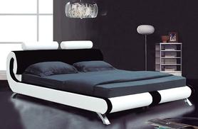 £119 instead of £880 (from Furniture Italia) for a Paris designer leather bed, £139 for a king-size - save up to 86%
