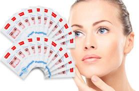 £6 instead of £57.97 (from Forever Cosmetics) for 24 blackhead removal strips - clear up your skin and save 90%
