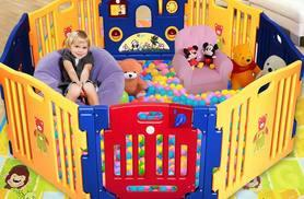£69 (from Costway) for an eight-panel children's playpen