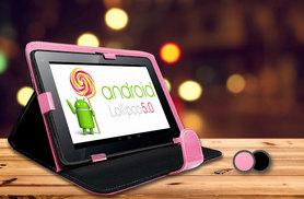 """£38 instead of £189 (from Jaoyeh) for an Android 7"""" tablet bundle - get online and save 80%"""