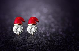 £4 instead of £19.99 (from Alvi's Fashion) for a pair of Christmas hat earrings - save 80%