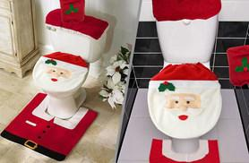 £6.99 instead £29.99 (from Colour My Wall) for a festive bathroom cover set - save 77%