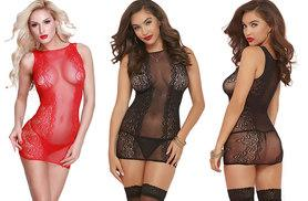 £6.99 instead of £34.99 (from Who Runs the World) for a sheer lace camisole – choose red or black and save 80%