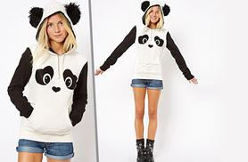 £12 instead of £51 (from EFMall) for a 3D panda hoodie – save 76%