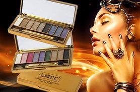 £3.99 instead of £19.80 (from LaRoc) for a nine-colour glitter eyeshadow palette in vibrant or nude tones, £7.99 for both palettes - save up to 80%