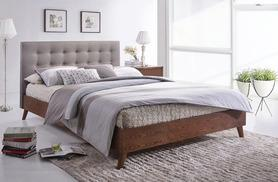 £199 (from FTA Furnishing) for a double modern wooden bed, £219 for a king or £289 for a double with mattress, £299 for a king with mattress - save up to 55%
