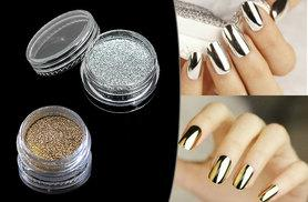 £4 instead of £19.99 (from Boni Caro) for gold or silver Magic Mirror nail powder, or £7 for both colours - glam up and save up to 80%