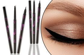£7 instead of £37.99 (from Forever Cosmetics) for a two-in-one liquid eyeliner and eyebrow pencil – choose from five colours and save 82%