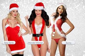 £8.99 instead of £39 (Boni Caro) for a 'Bunny' or 'Wonder Woman' sexy Christmas outfit, £9.99 for a 'Sexy Santa' costume - save up to 77%