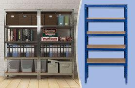 £22 instead of £187.01 (from Bootique Shop) for a five-tier racking unit, £40 for two shelving units - save up to 88%