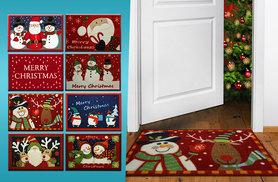 £4.99 instead of £26 (from The Rug Shop) for a Christmas themed doormat in a choice of eight designs, or £8.99 for two - save up to 81%