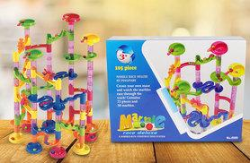 £12.99 instead of £45 (from Vivo Mounts) for a 105-piece marble run game - save 71%
