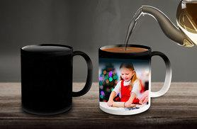 £4.99 instead of £9.99 (from Truprint) for a personalised magic photo mug - save 50%