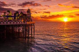 From £129 (at The Old Ship Hotel) for a Brighton stay for 2 with wine, dinner, breakfast and late check-out or from £209 for 2nts with afternoon tea - save up to 39%