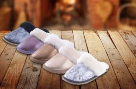 £12 instead of £86.01 (from Evaniy) for a pair of water-resistant sheepskin slippers - choose from five designs including snake and crocodile and save a snuggly 86%