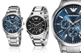 £129 instead of £292.01 (from Wristy Business) for an Armani Men's watch - choose from two designs and save 56%