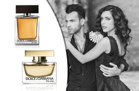 £26 instead of £36.01 for a 30ml bottle of D&G The One His eau de toilette, or £34 for Hers eau de parfum - save up to 28%