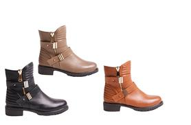 £20 instead of £66 (from Solewish) for a pair of faux-leather ankle boots - choose from three colours and save 70%
