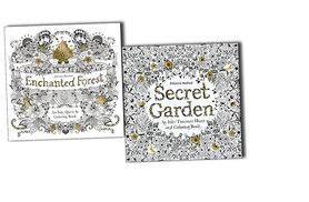 £9.99 instead of £15.91 (from Bangzo) for two adult colouring books - save 37%