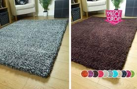 From £9.99 instead of £29.99 (from Groundlevel.co.uk) for a shaggy rug in one of five sizes - choose from 11 colours and save up to 67%