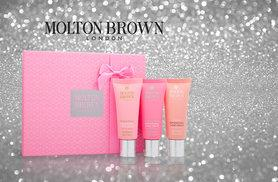 £19.99 instead of £36.01 (from Deals Direct) for a Molton Brown hand cream trio - choose from the white gift box or pink gift box and save 50%