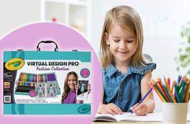 £18.99 instead of £39.99 (from Dream Price Direct) for a Crayola Virtual Design Pro Fashion Collection - get creative and save 53%