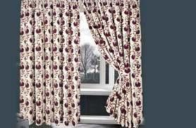 From £19.99 instead of £80 (from Home Furnishings Company) for a pair of lined pencil-pleated jacquard floral curtains - choose from four colours and save up to 75%