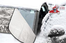 £3.99 instead of £14.99 (from Bargainshop London) for a windscreen frost guard – keep out the winter chill and save 73%