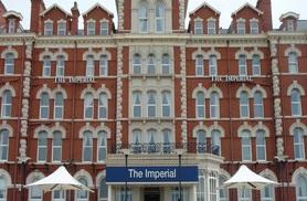 From £99 (at The Imperial Hotel) for an overnight Blackpool stay with breakfast, dinner, wine and late check-out, from £179 for two nights - save up to 39%