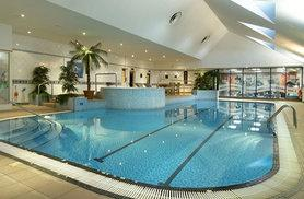 £29 for a leisure day pass with sparkling afternoon tea for two people, £56 for four people or £84 for six people at Hilton East Midlands Airport - save up to 34%