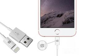 £9.99 for two 1m Apple Lightning-compatible charger cables from Deals Direct