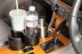 £4.99 for a cup holder with three, versatile storage spaces from Ckent Ltd