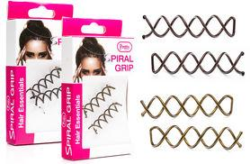 £2.99 instead of £5.99 for spiral hair grips from Ckent Ltd - save 50%