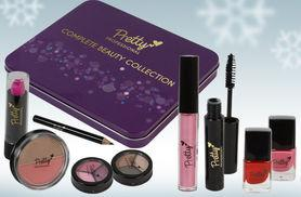 £6.99 instead of £13.99 for a pretty professional complete beauty set with nine glam pieces from Ckent Ltd - save 50%