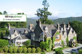 £149 (at Penmaenuchaf Hall Hotel) for a two-night Snowdonia stay for two with sparkling wine on arrival, breakfast and two £10 dinner vouchers - save up to 68%