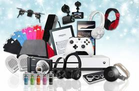 From £10 for a Mystery Electronics Deal - products include an Apple watch, Xbox One, Jawbone UP2, Beats by Dre, Sony camera, wireless speakers, powerbank and more!
